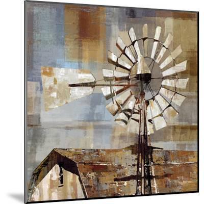 Long Barn - Windmill-Mark Chandon-Mounted Art Print