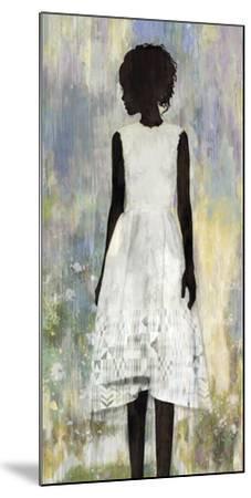 Girl in a Garden-Mark Chandon-Mounted Art Print