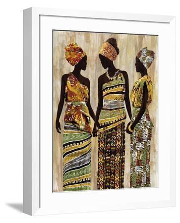 African Beauties-Mark Chandon-Framed Art Print