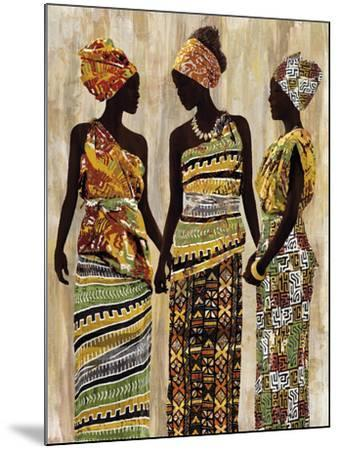 African Beauties-Mark Chandon-Mounted Art Print