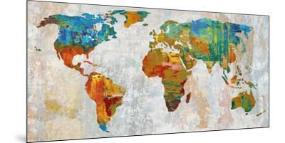 Abstract World Map Art Print by Paul Duncan | Art.com