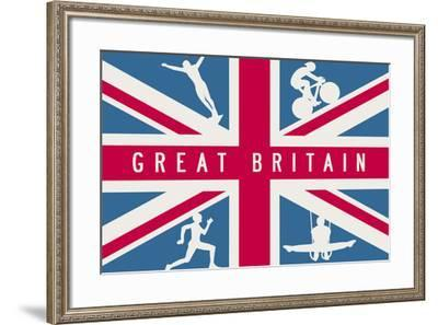 Sporting Britain I-The Vintage Collection-Framed Giclee Print