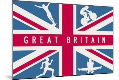 Sporting Britain I-The Vintage Collection-Mounted Giclee Print