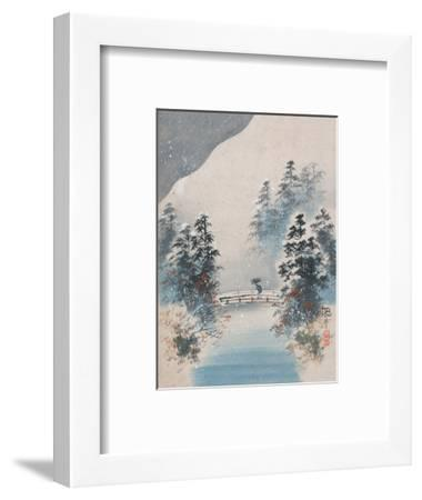 Winter Snow--Framed Art Print