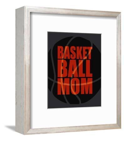 Baseball Mom-Sports Mania-Framed Art Print