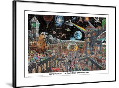 Echoes From The Darkside Of The Moon - Tom Masse--Framed Poster