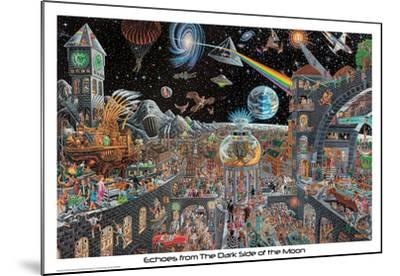 Echoes From The Darkside Of The Moon - Tom Masse--Mounted Poster