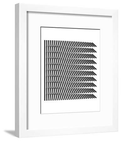 Optica-Simon C^ Page-Framed Art Print