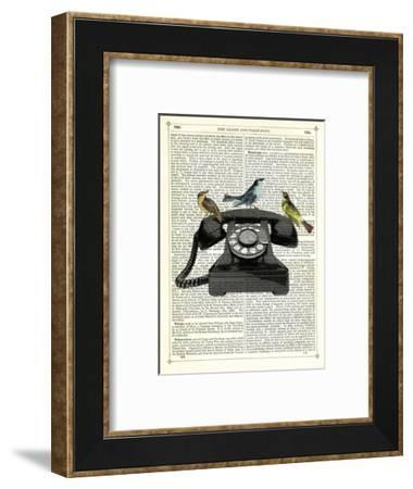 Birdcall-Marion Mcconaghie-Framed Art Print