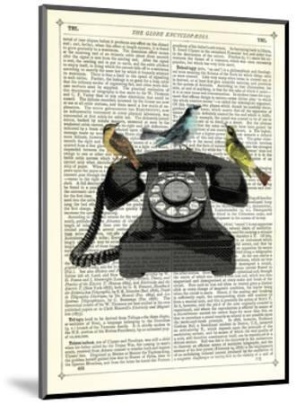 Birdcall-Marion Mcconaghie-Mounted Art Print