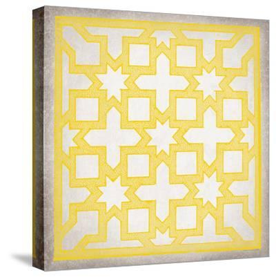 Ancient Geometry III-Maria Mendez-Stretched Canvas Print