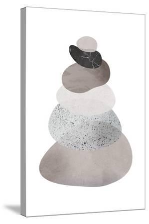 Scandi Stones II-Clara Wells-Stretched Canvas Print
