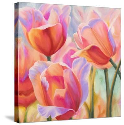 Tulips in Wonderland II-Cynthia Ann-Stretched Canvas Print