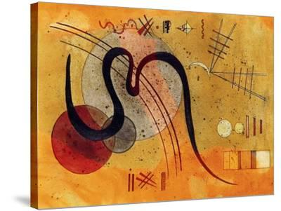 Launelinie-Wassily Kandinsky-Stretched Canvas Print