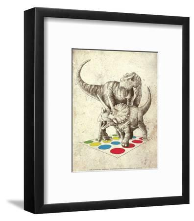 The Ultimate Battle-Michael Buxton-Framed Art Print
