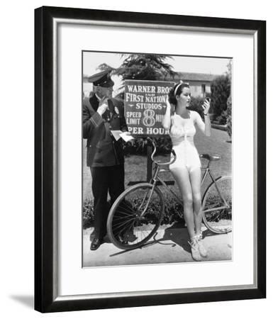 Warner Bros. Studios 1935-Hollywood Historic Photos-Framed Art Print