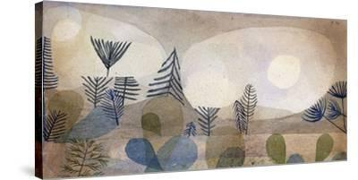Oceanic Landscape-Paul Klee-Stretched Canvas Print