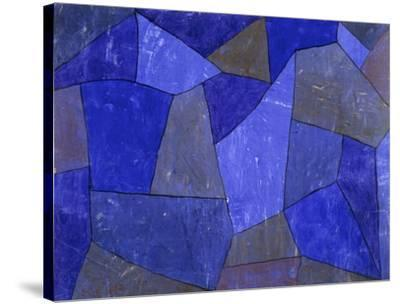 Rocks at Night-Paul Klee-Stretched Canvas Print