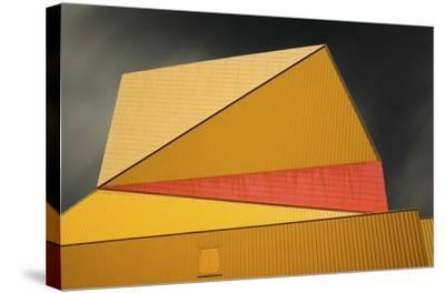 The Yellow Roof-Gilbert Claes-Stretched Canvas Print
