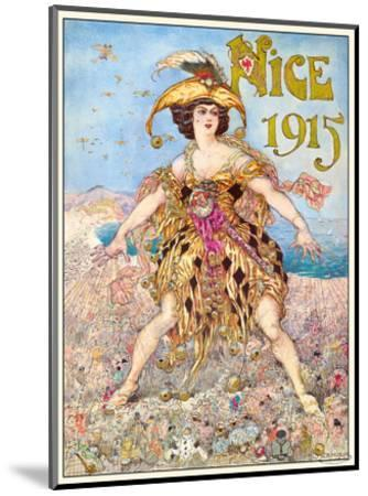 Nice Carnival 1915-Gustav-Adolf Mossa-Mounted Art Print