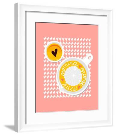 Morning Orange Juice-Myriam Tebbakha-Framed Giclee Print