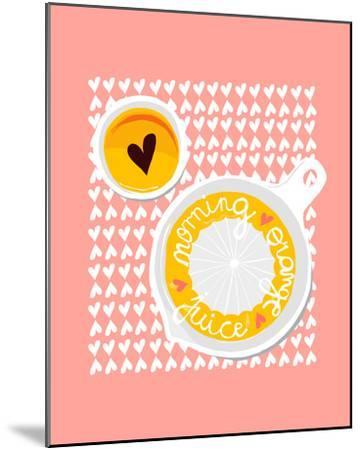 Morning Orange Juice-Myriam Tebbakha-Mounted Giclee Print