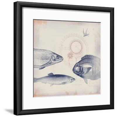 Oceanus Pisces-Ken Hurd-Framed Giclee Print