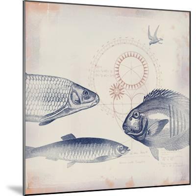 Oceanus Pisces-Ken Hurd-Mounted Giclee Print