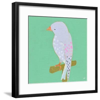 Bright Birds - Playful-Joelle Wehkamp-Framed Giclee Print