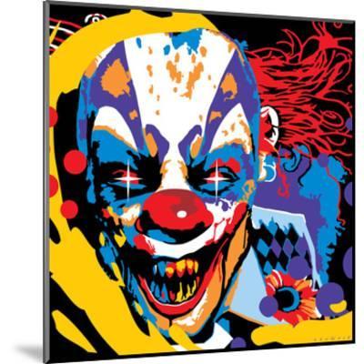 Clown-Ray Lengel?-Mounted Art Print