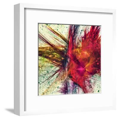 Explosive colors-Jean-Fran?ois Dupuis-Framed Art Print