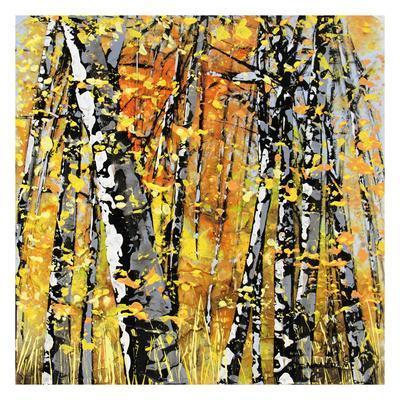 Treescape 22116-Carole Malcolm-Framed Art Print