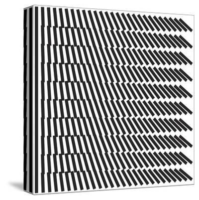 Optica-Simon C^ Page-Stretched Canvas Print