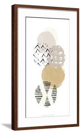 Circular Synergy II-June Erica Vess-Framed Art Print