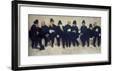Nine Pints of the Law-Lawson Wood-Framed Giclee Print