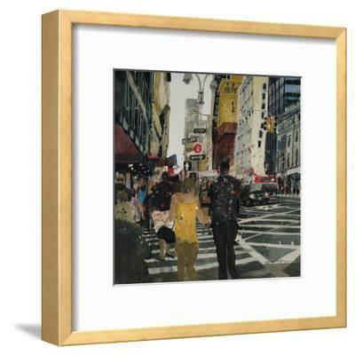 Broadway Melody, New York-Susan Brown-Framed Giclee Print