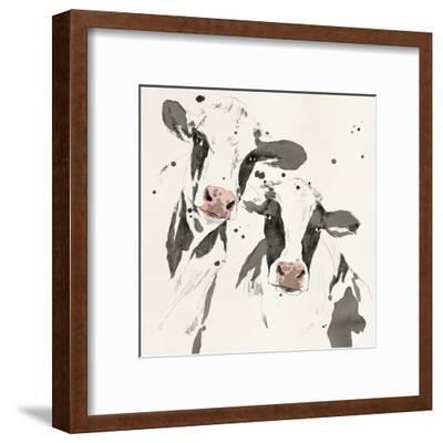 Cowshed Beauties-Kristine Hegre-Framed Giclee Print