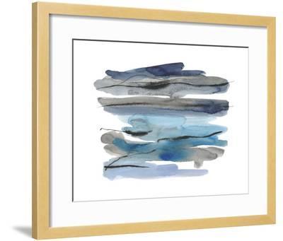 Modern Slate Focus-Kim Johnson-Framed Giclee Print
