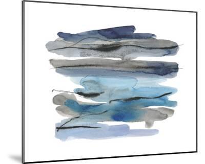 Modern Slate Focus-Kim Johnson-Mounted Giclee Print