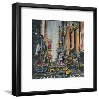 Theatre District, New York-Susan Brown-Framed Giclee Print