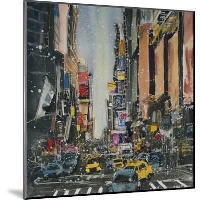 Theatre District, New York-Susan Brown-Mounted Giclee Print