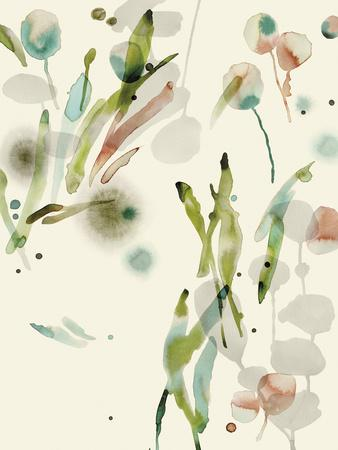 Floratopia - Spring-Kristine Hegre-Framed Giclee Print