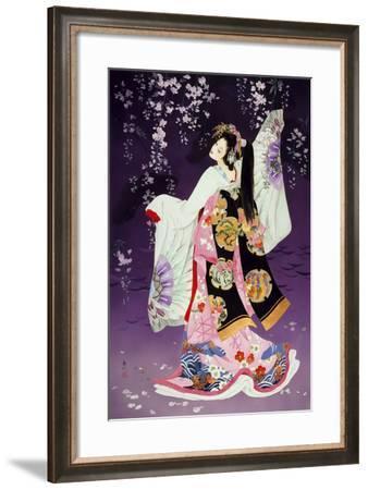 Sagi No Mai-Haruyo Morita-Framed Art Print