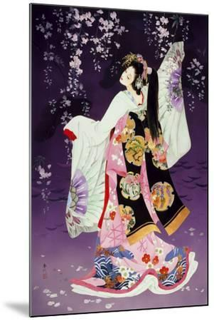 Sagi No Mai-Haruyo Morita-Mounted Art Print