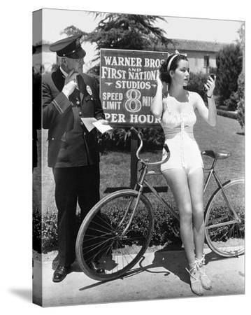 Warner Bros. Studios 1935-Hollywood Historic Photos-Stretched Canvas Print