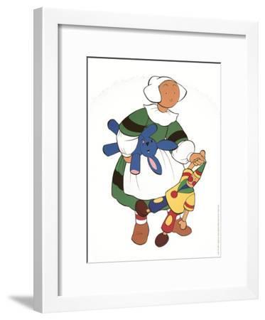 Becassine et ses amis-Unknown-Framed Art Print