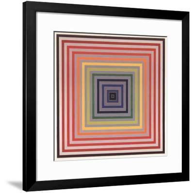 Letter on the Blind II-Frank Stella-Framed Art Print