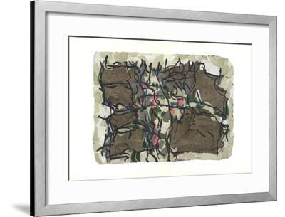 Untitled-Jean-Paul Riopelle-Framed Collectable Print