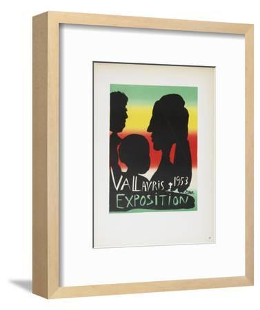 Vallauris Exposition-Pablo Picasso-Framed Collectable Print