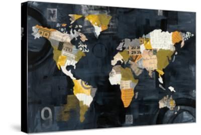 Golden World-Courtney Prahl-Stretched Canvas Print